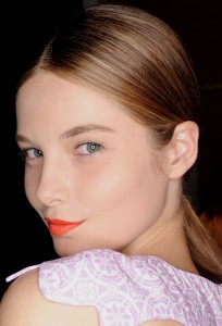 orange-lipstick-karla-spetic-australia-fashion-week-2011