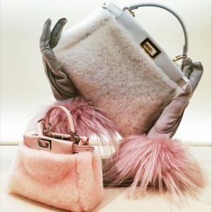 Fendi-GreyPink-Fur-Peekaboo-Bags-Fall-2015